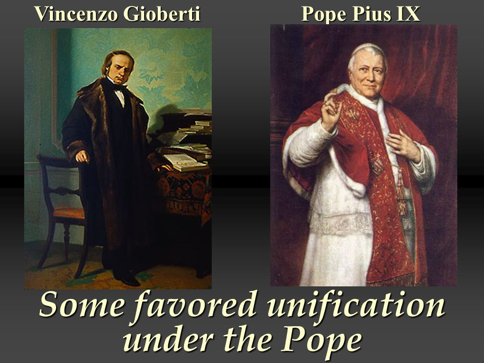 Some favored unification under the Pope