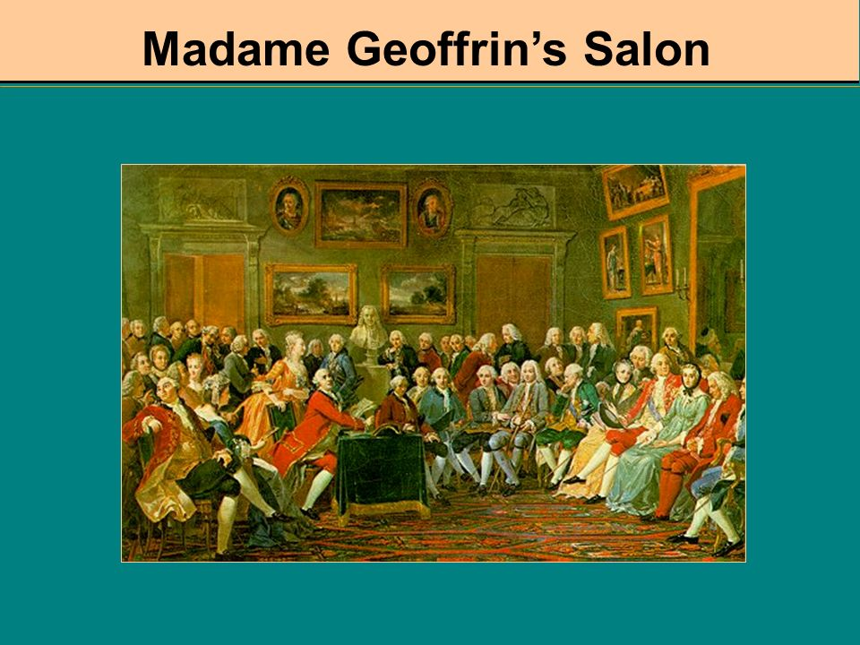 Madame Geoffrin's Salon