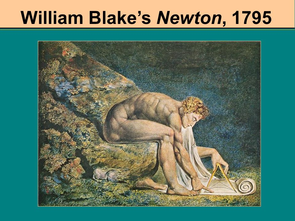 William Blake's Newton, 1795