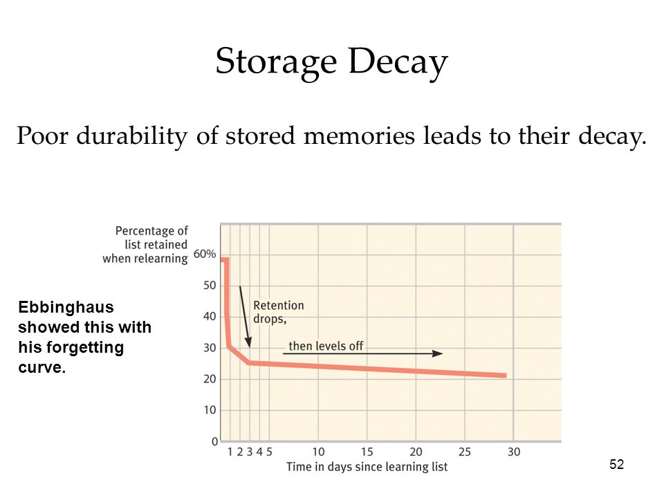 Decay Memory What Is Storage Decay ...