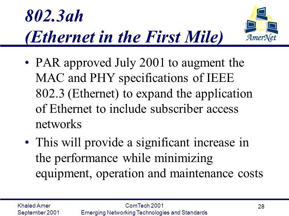 802.3ah (Ethernet in the First Mile)