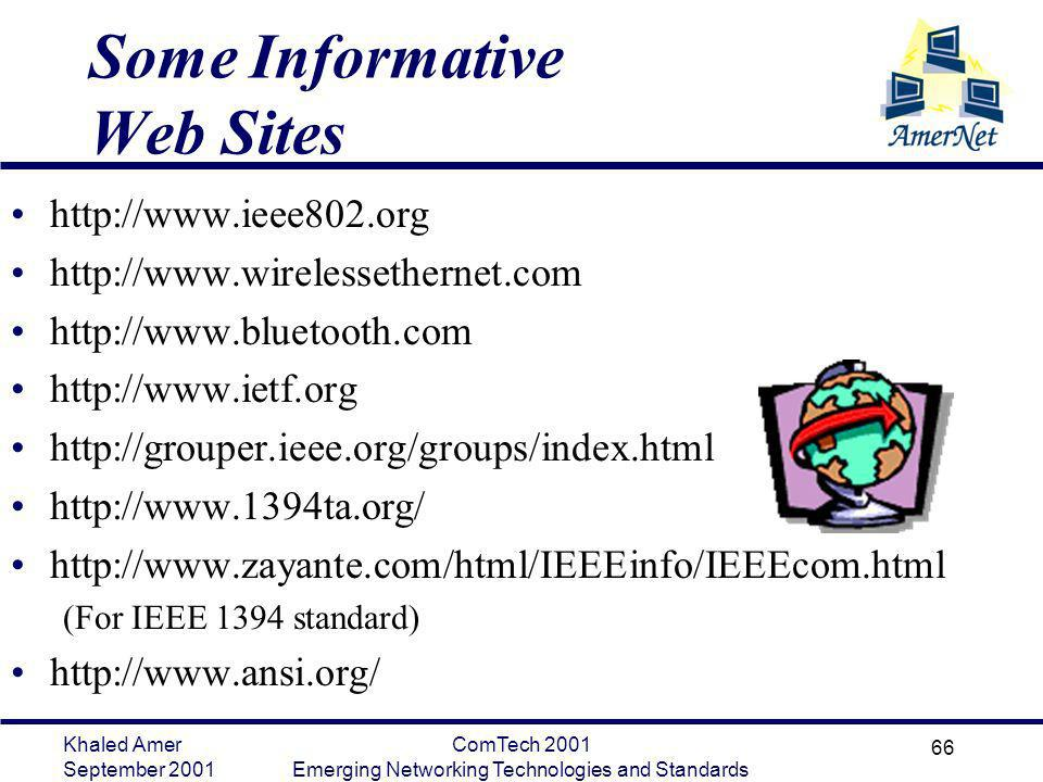 Some Informative Web Sites