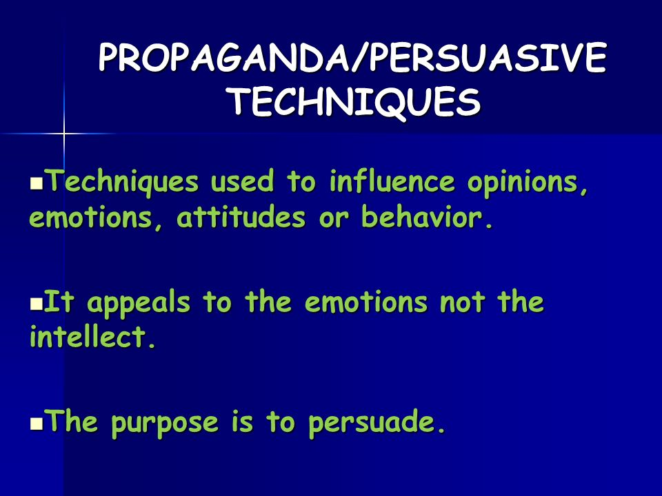 techniques to persuade in an essay Persuasive techniques essays: over 180,000 persuasive techniques essays, persuasive techniques term papers, persuasive techniques research paper, book reports 184 990 essays, term and research papers available for unlimited access.
