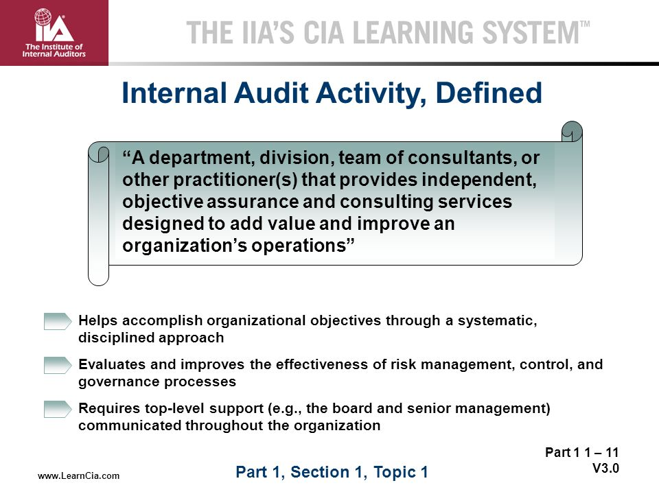 Internal Controls Management