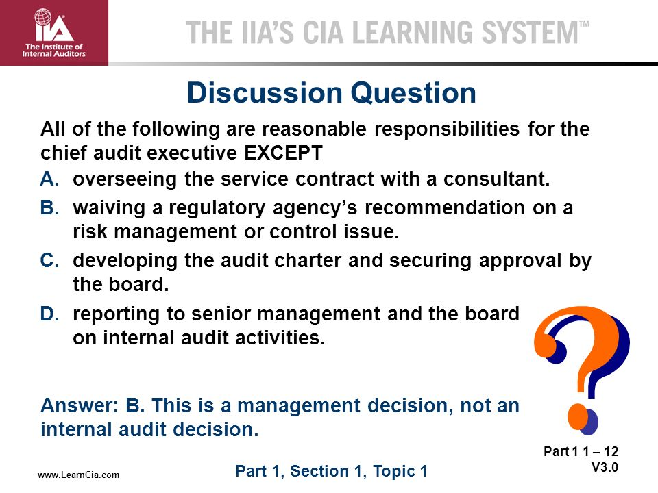 how to become a chief audit executive