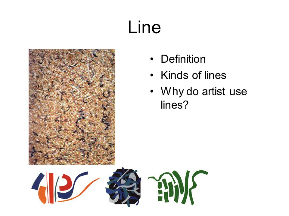 Kinds Of Lines In Art And Its Meaning : Elements of art the are parts an