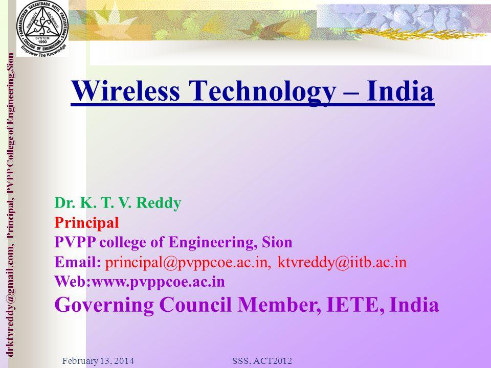 Wireless Technology – India