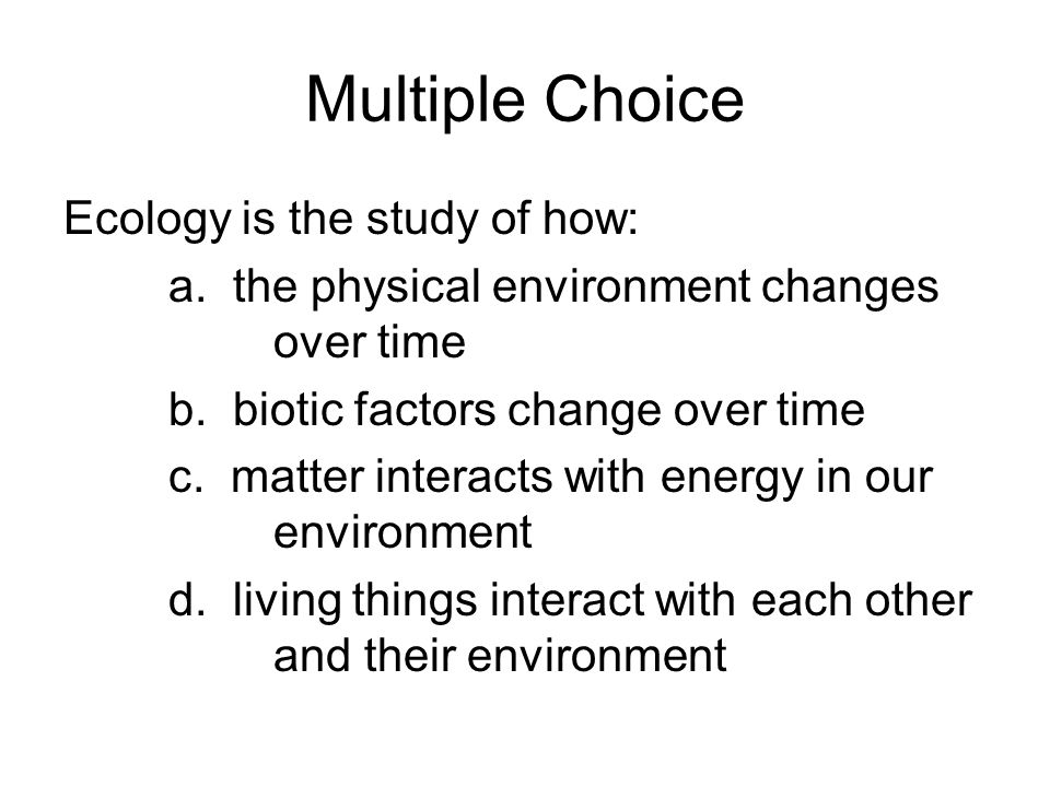 multiple choice and business environment Multiple choice and business environment  topics: multiple choice  monopoly is a business environment in which a single company, by controlling a specific supply of products or service, set prices, prevents other business from entering the market and controls the available supply of the product or.