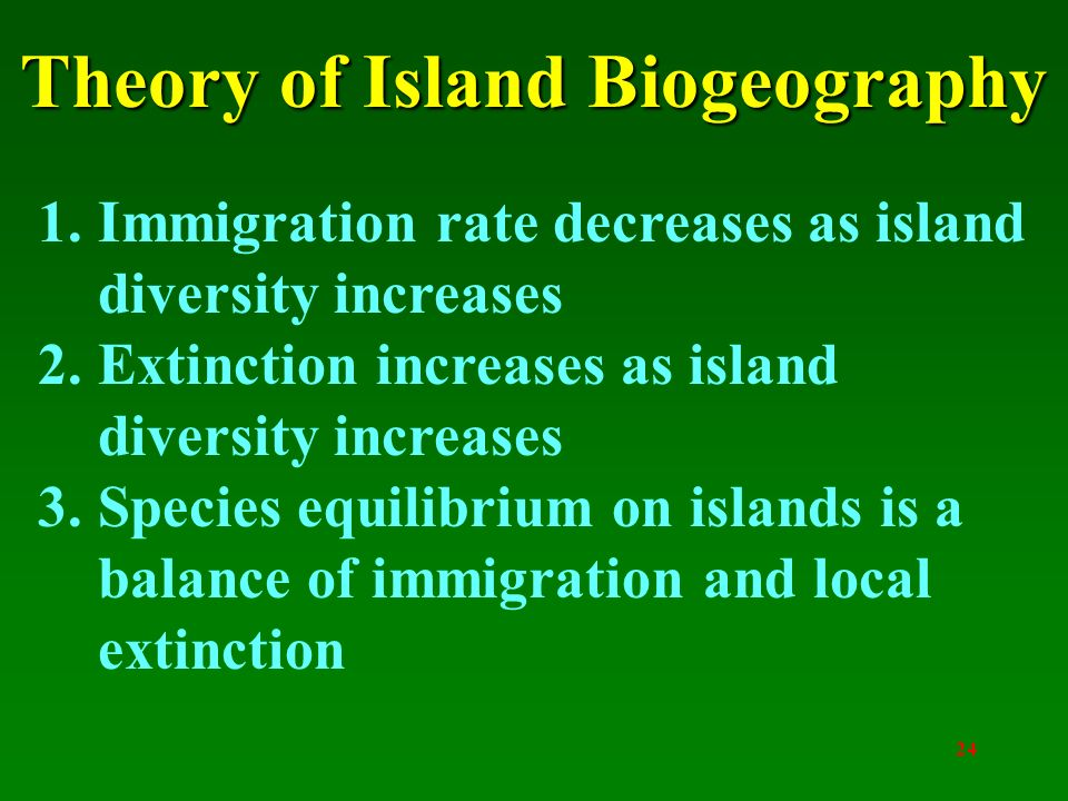 "theory of island biogeography ""any organism which lives in a temperate or a cold climate is exposed at different periods of its life cycle or in different generafions to sharply different environments the evolufionary implicafions of nature's annually recurrent drama of life, death, and resurrecfion have not been sufficiently appreciated in order to survive and."
