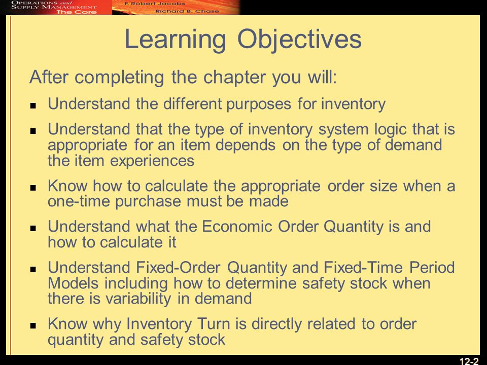 Mastering The 2 Inventory Management Models