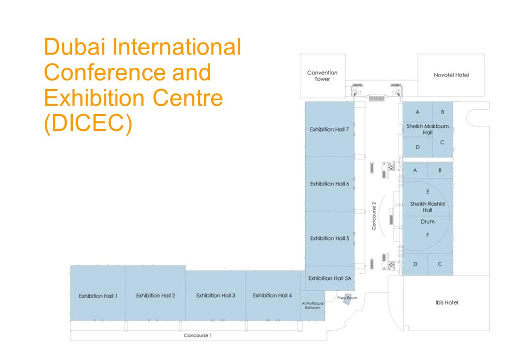Dubai International Conference and Exhibition Centre (DICEC)