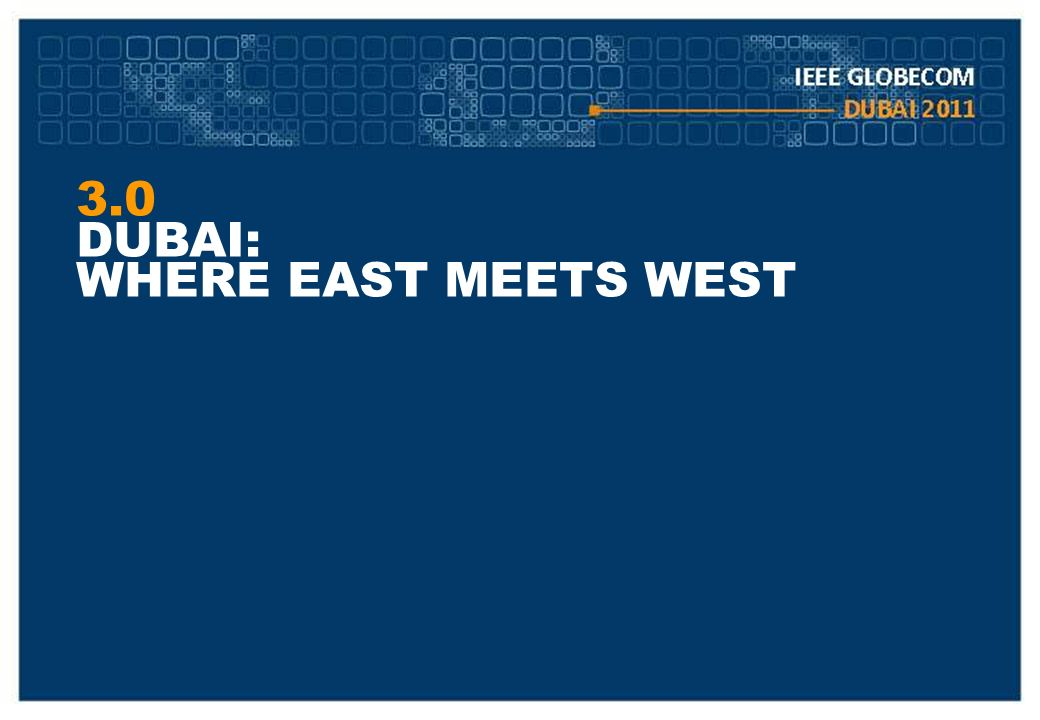 3.0 DUBAI: WHERE EAST MEETS WEST