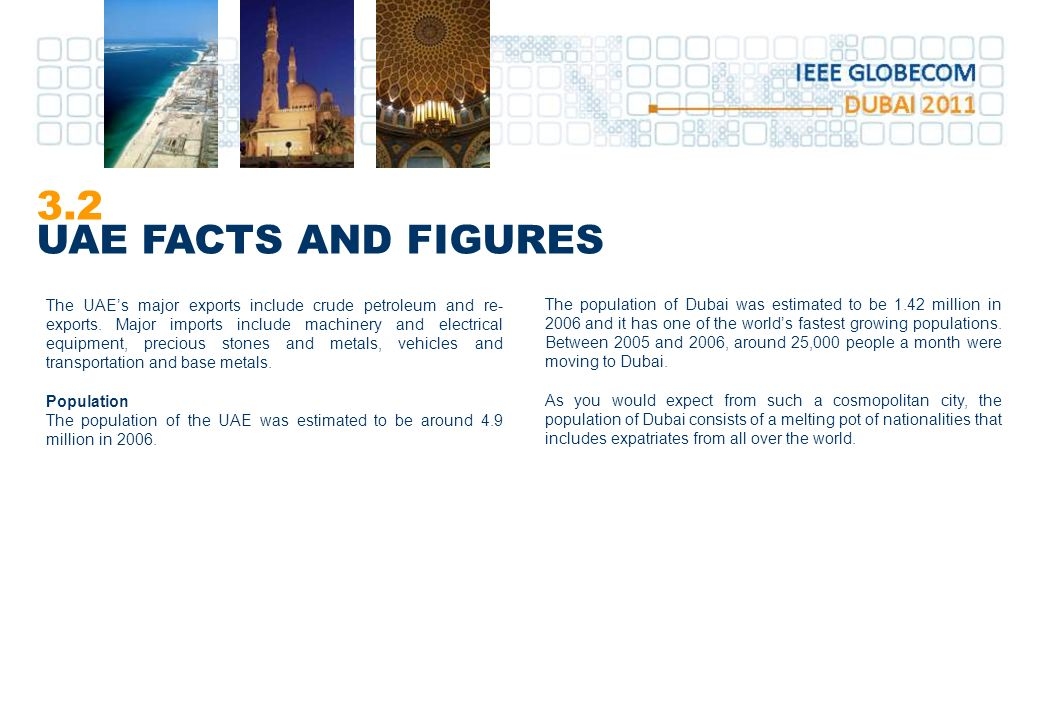 3.2 UAE FACTS AND FIGURES
