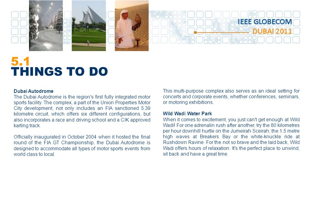 5.1 THINGS TO DO Dubai Autodrome