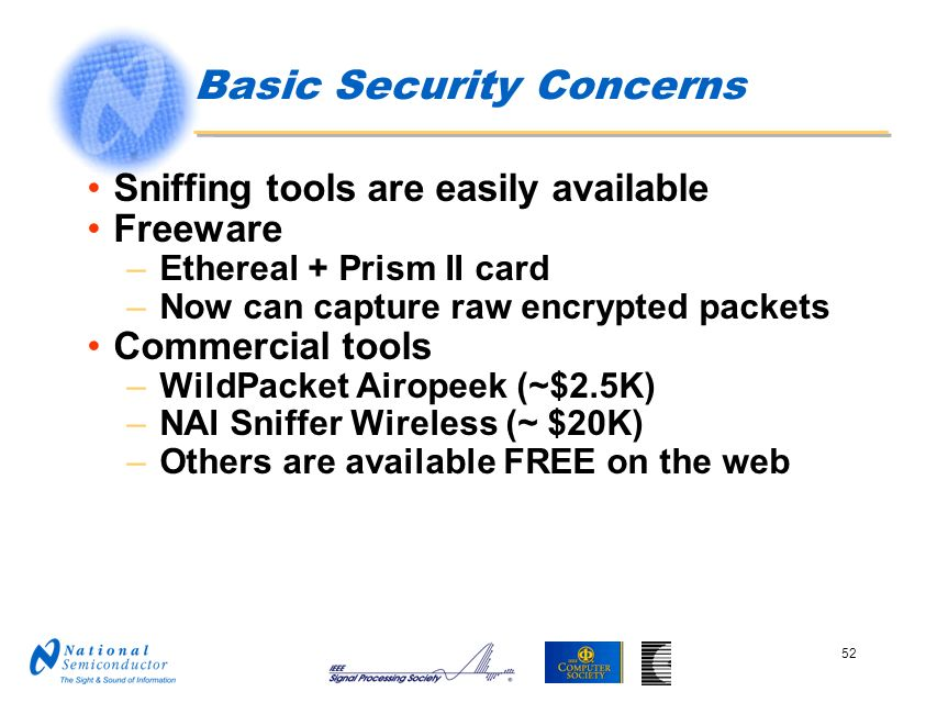 Basic Security Concerns