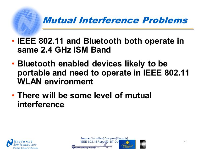 Mutual Interference Problems