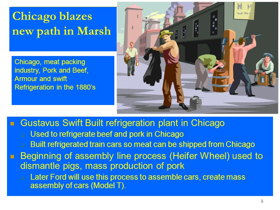 Chicago blazes new path in Marsh