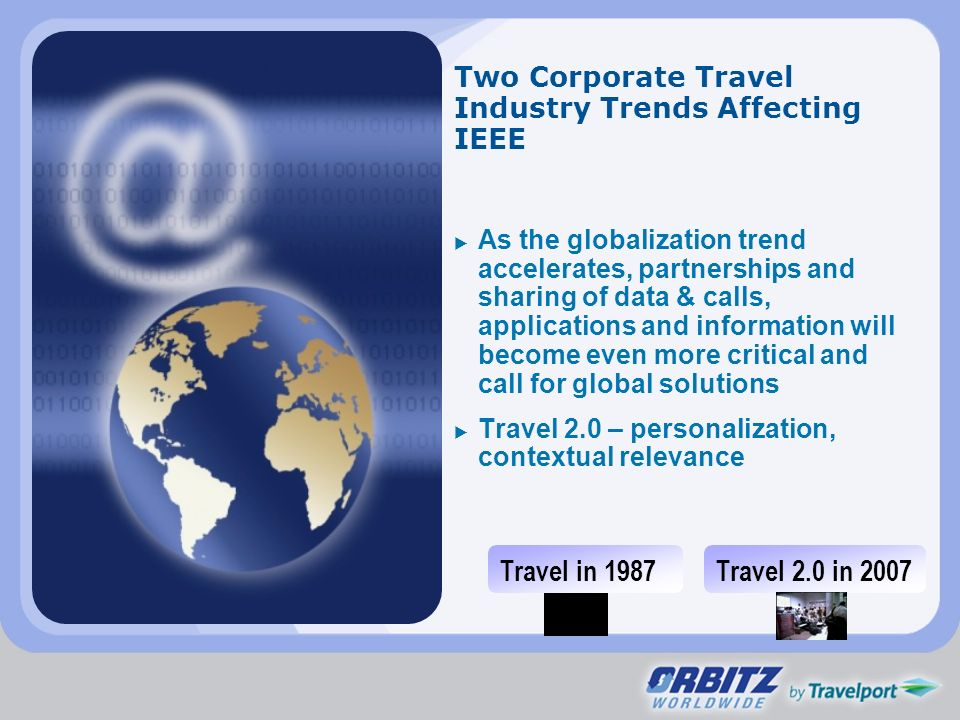 Two Corporate Travel Industry Trends Affecting IEEE