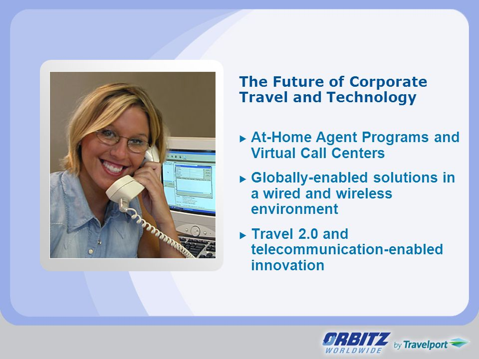 The Future of Corporate Travel and Technology