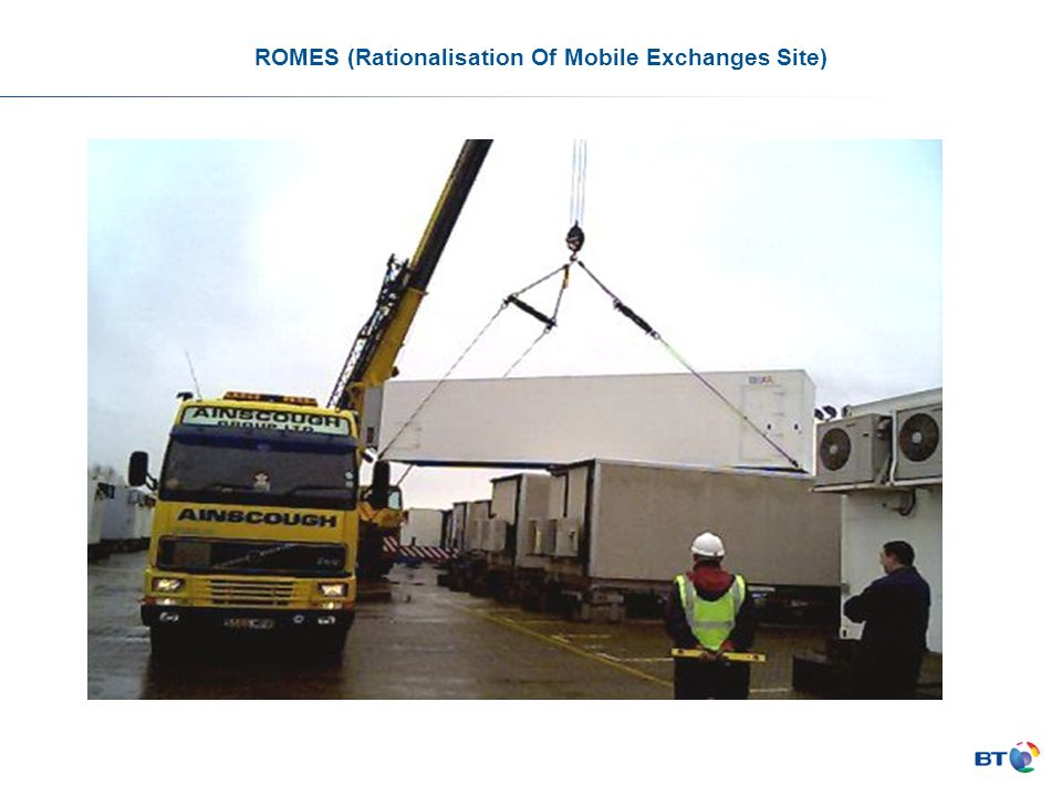 ROMES (Rationalisation Of Mobile Exchanges Site)