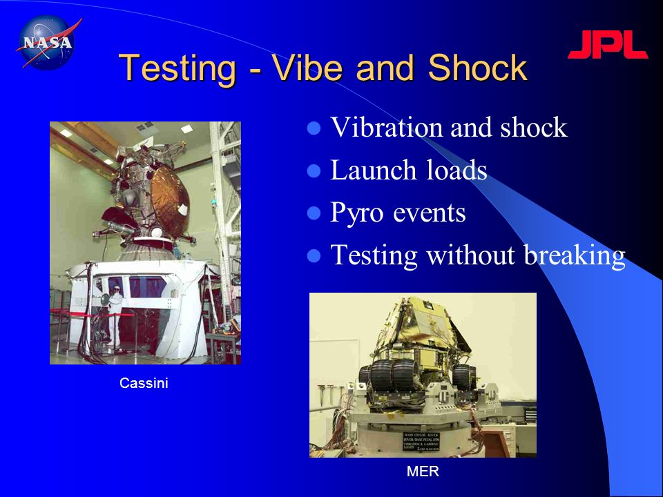 Testing - Vibe and Shock