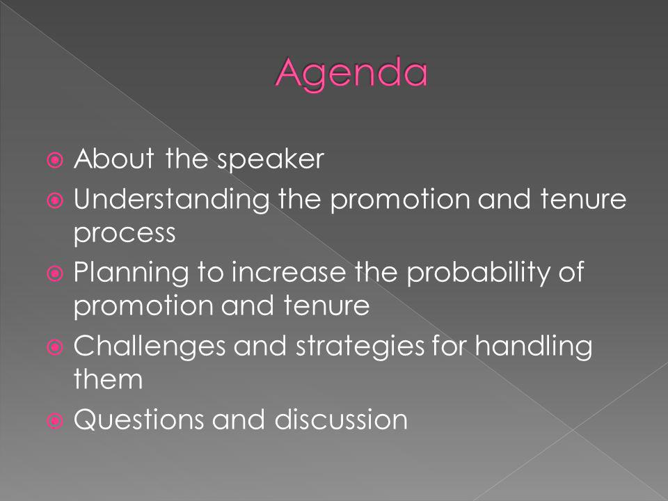 Agenda About the speaker