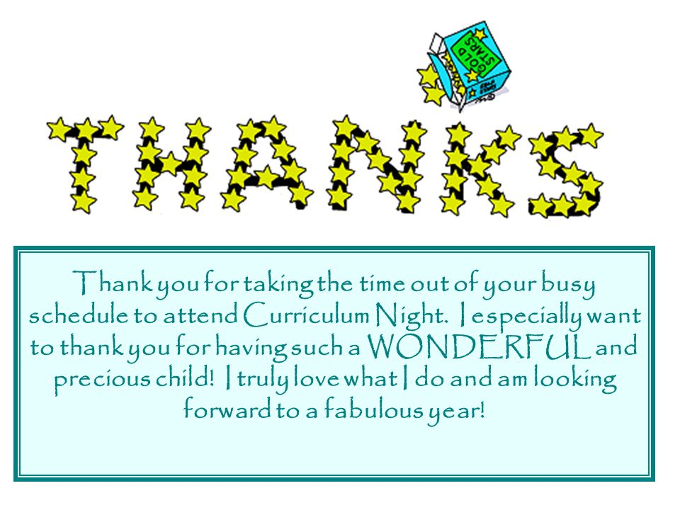 welcome parents while you are waiting thank you ppt