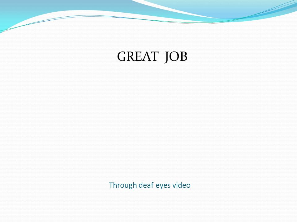 through deaf eyes review Start studying through deaf eyes review 2 learn vocabulary, terms, and more with flashcards, games, and other study tools.