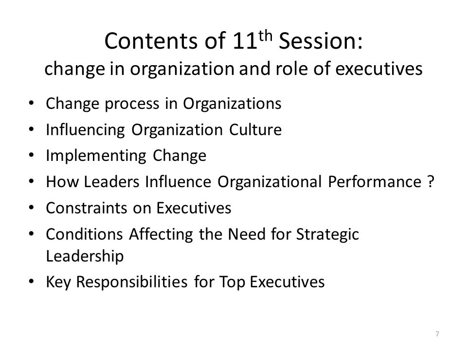 leading change in an organization Don't just assign a task force of employees to work on the change effort ask  people from all across the organization to volunteer to be part of.