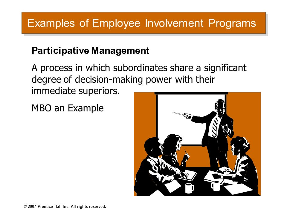 employee involvement in decision making management essay Employee involvement during organizational change is not optional  and create a structure of involvement that facilitates decision-making at the right level, by.