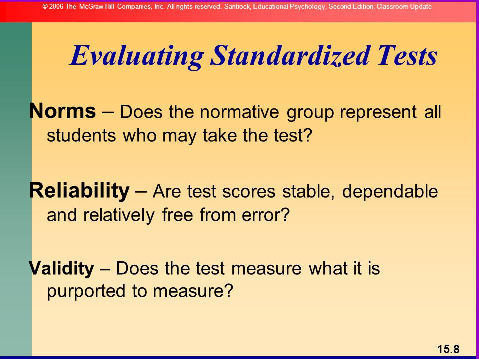 Comparing the Predictive Validity of High-Stakes Standardized Tests