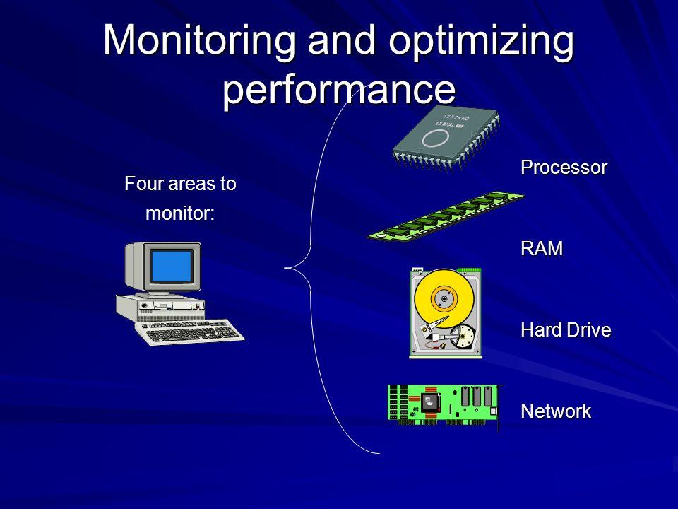 Monitoring and optimizing performance