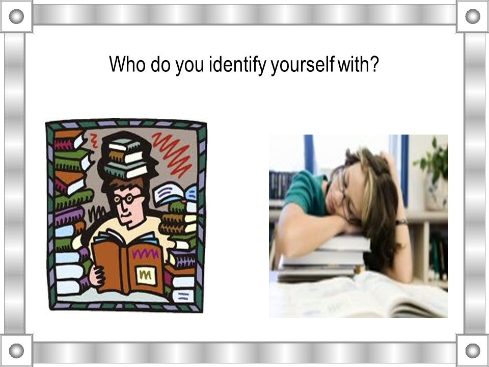 """how do you identify yourself 1 how do you identify yourself by sylvia pearce what you identify with, you are putting your hope, faith, trust and your confidence in body body minded (""""the mind."""