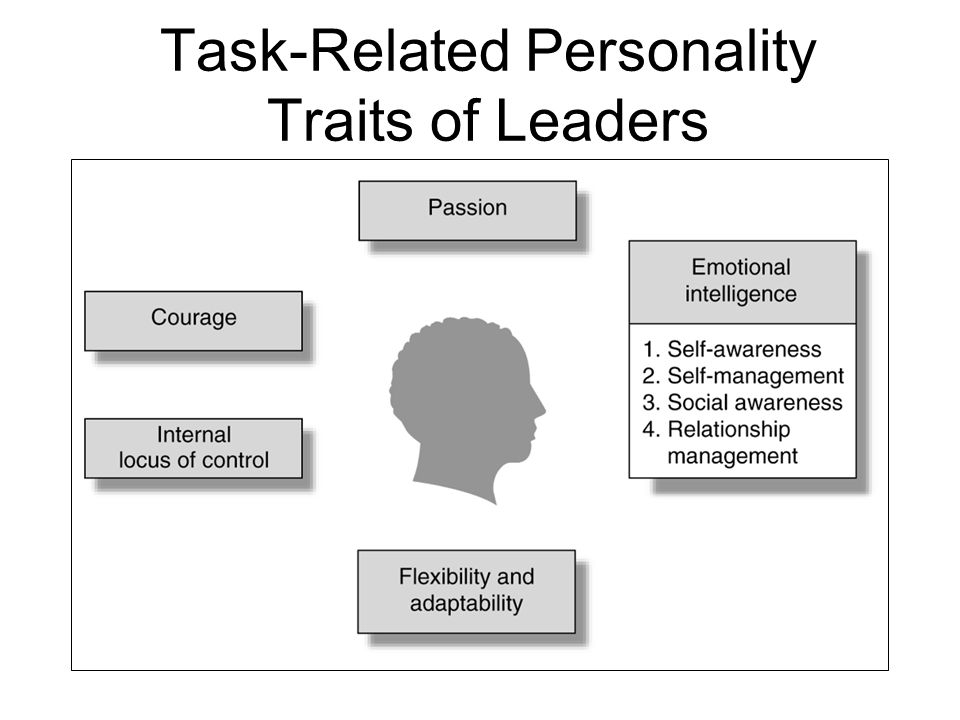 Task-Related Personality Traits of Leaders