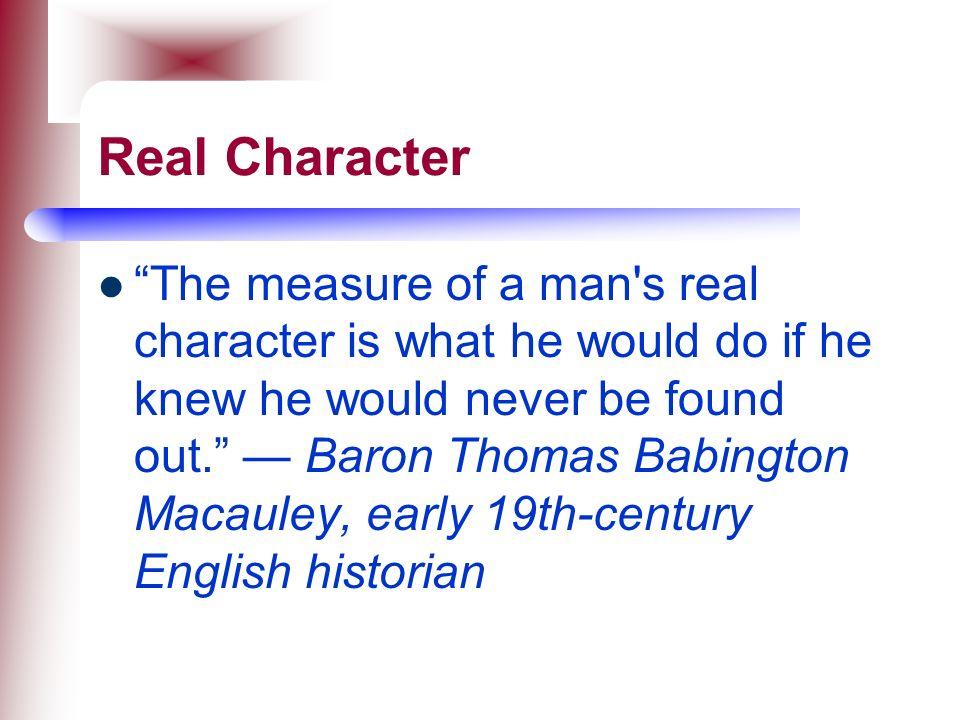 Real Character