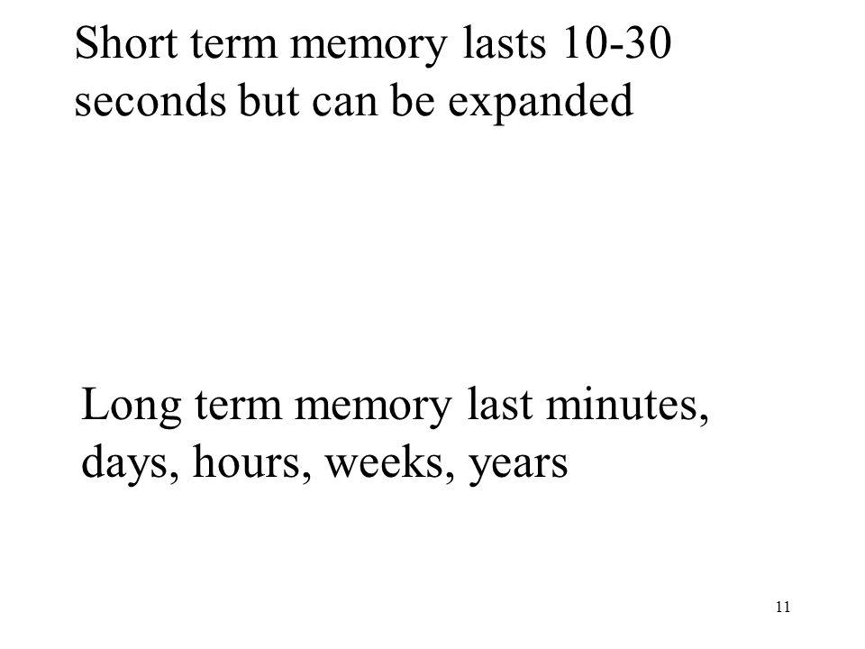 short term memory essay Effect of short term memory essays: over 180,000 effect of short term memory essays, effect of short term memory term papers, effect of short term memory research paper, book reports 184 990 essays, term and research papers available for unlimited access.