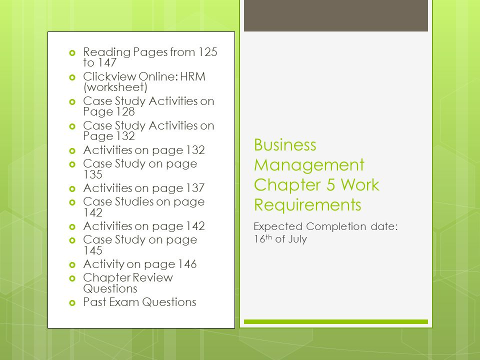 four requirements for entrepreneurial management Leavey school of business management & entrepreneurship department  academic programs  bachelor of science in commerce in addition, students  must complete the following departmental requirements:  four of the following  courses.