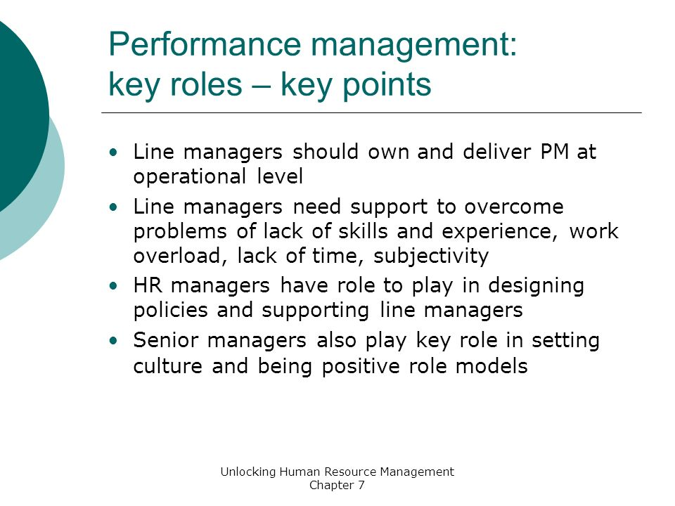 role of line managers in human resource management hrm To assign human resource management responsibilities to line managers, as  indicated in the prescriptions of the literature we use data from.