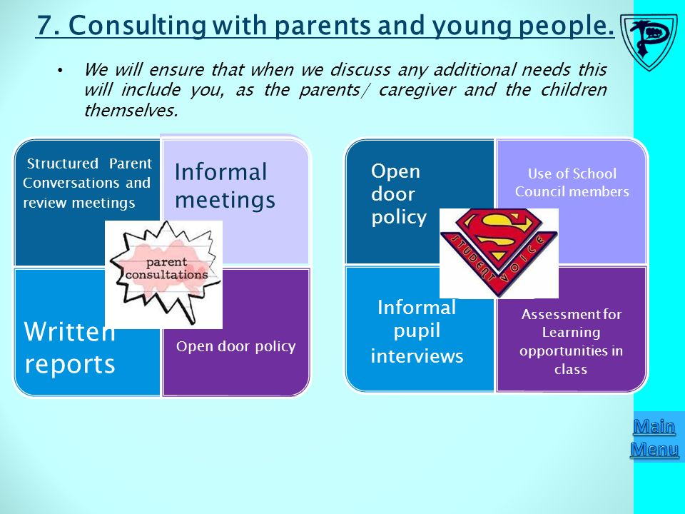 consulting parents about the use of Process consulting helps you identify answers to these questions and will assist  you in  relationships within the system that impact functionality use infinite  campus data to  surveys: create and send surveys to students, parents and  staff.