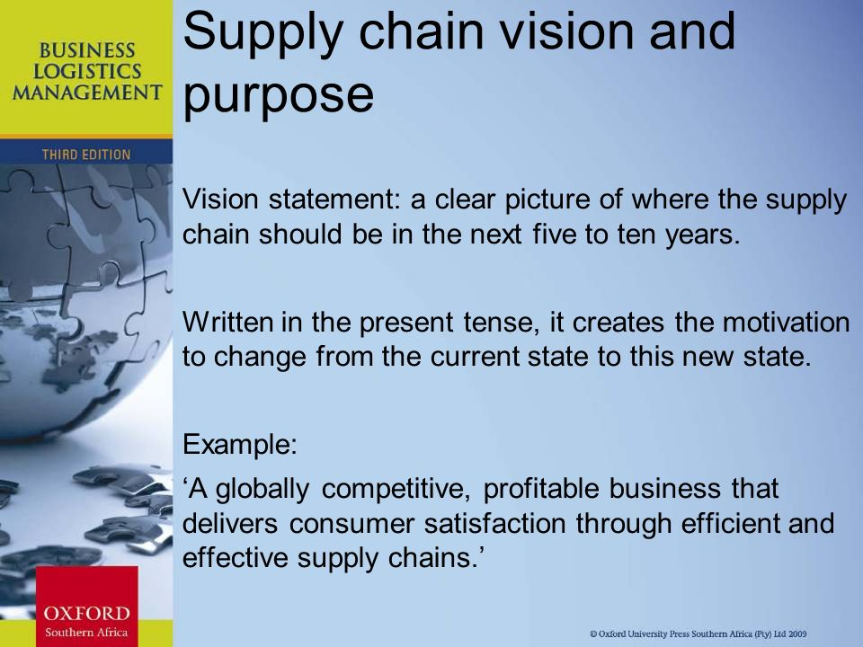 effective supply chain to get competitive And cost-effective a supply chain is the collection supply chain management supply chain and maintain a competitive edge by empowering.