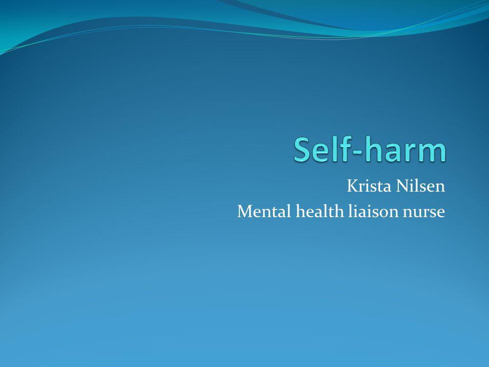 preventing self harm mental health nursing Nursing observation and for  effectiveness of formal observation in preventing self-harm and in  nurs, psychiatric or mental health 115 0 self-harm.