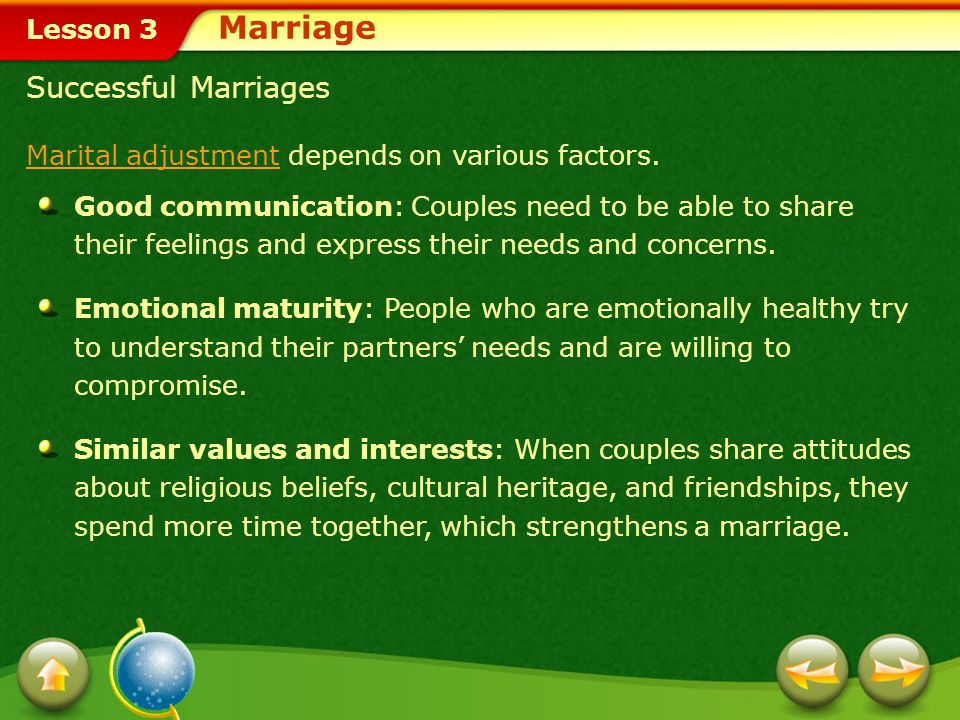 Marriage Successful Marriages