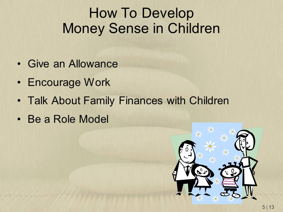 How To Develop Money Sense in Children