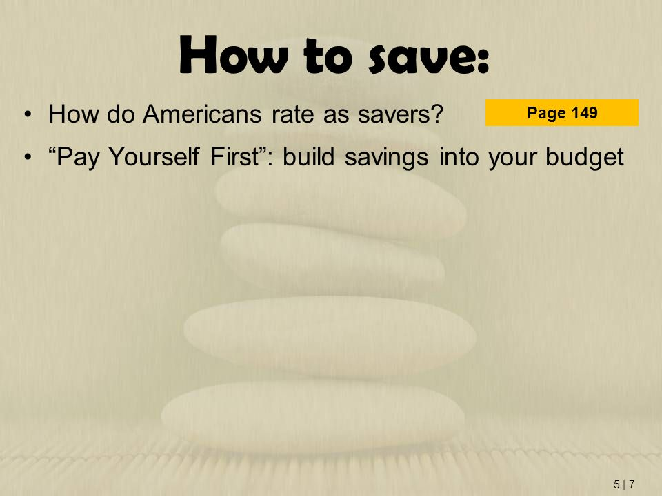 How to save: How do Americans rate as savers