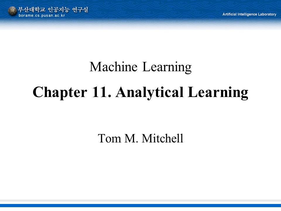 machine learning tom mitchell