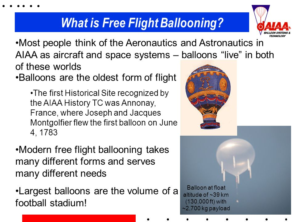 What is Free Flight Ballooning