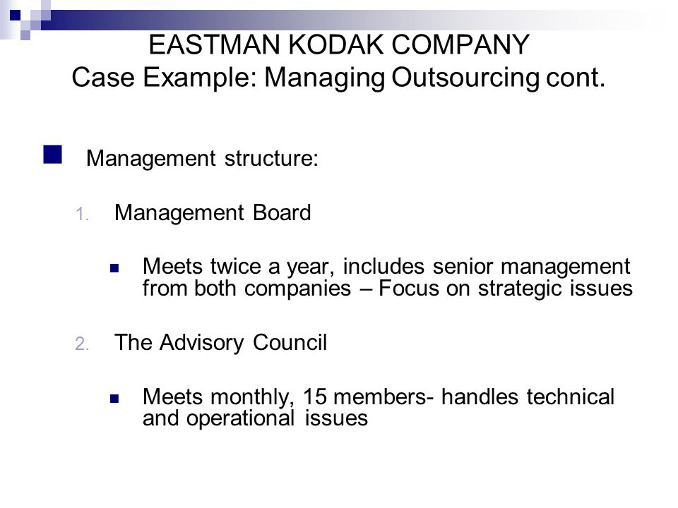 """eastman kodak corporate level strategy Review case """"the rise and fall of eastman kodak: will it survive beyond 2012"""" located in the textbook assume that you have been hired by kodak as a business consultant to recommend a new corporate-level strategy for the company to improve declining sales, increase profitability, and expand the company to the cloud service industry."""