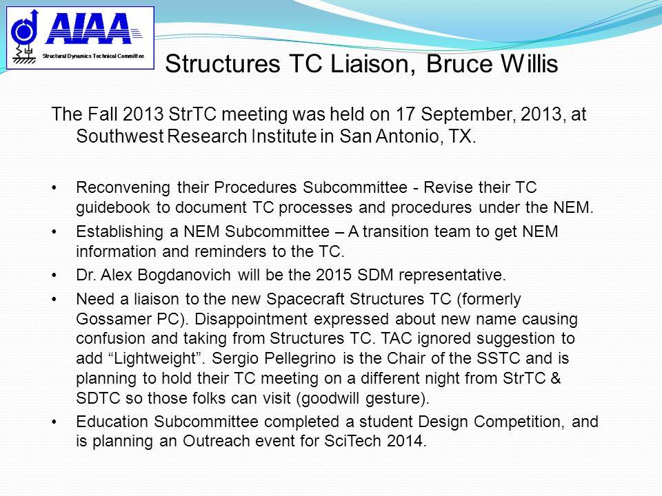 Structures TC Liaison, Bruce Willis
