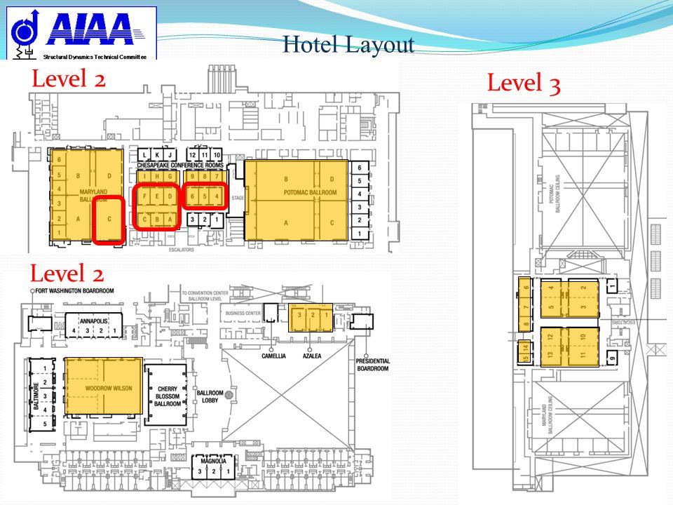 Hotel Layout Level 2 Level 3 Level 2