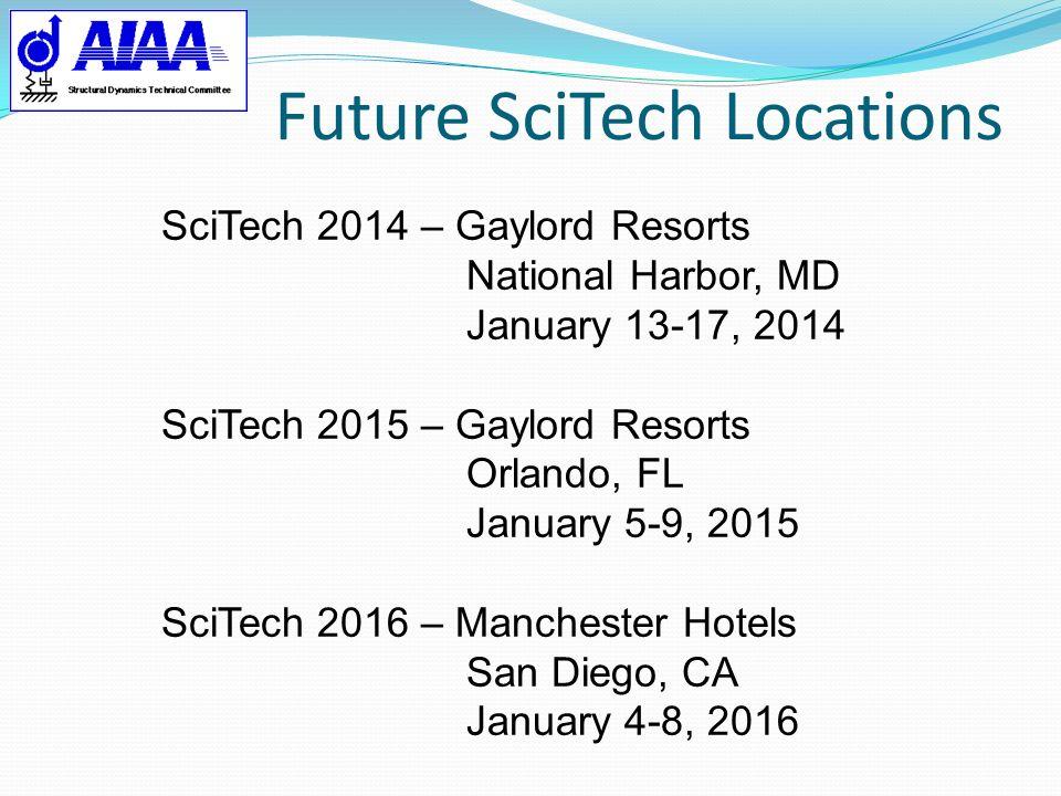 Future SciTech Locations
